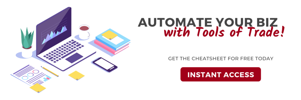 Automate Your Online Business with Tools of Trade | AnitaM