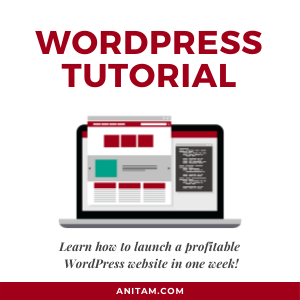 WordPress Tutorial: How to launch a profitable website in one week!