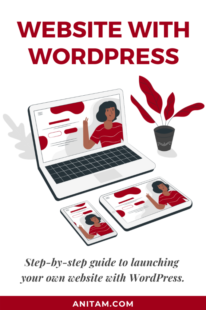 Create Your Website with WordPress | AnitaM