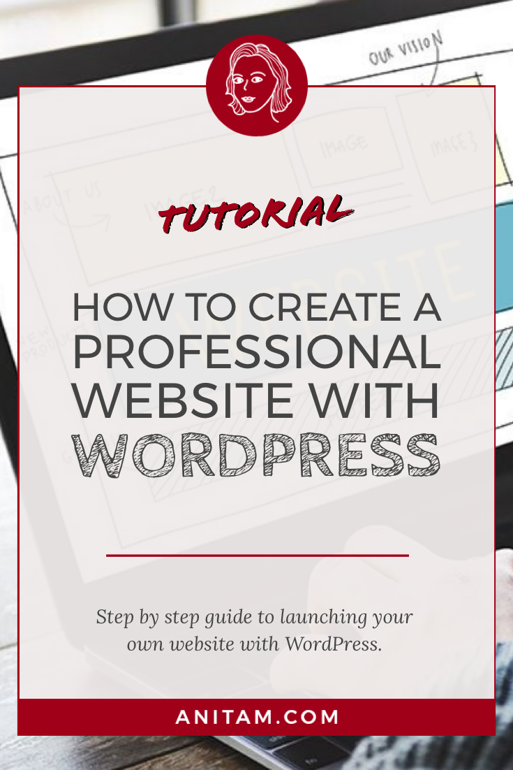 How to create a website with WordPress | AnitaM