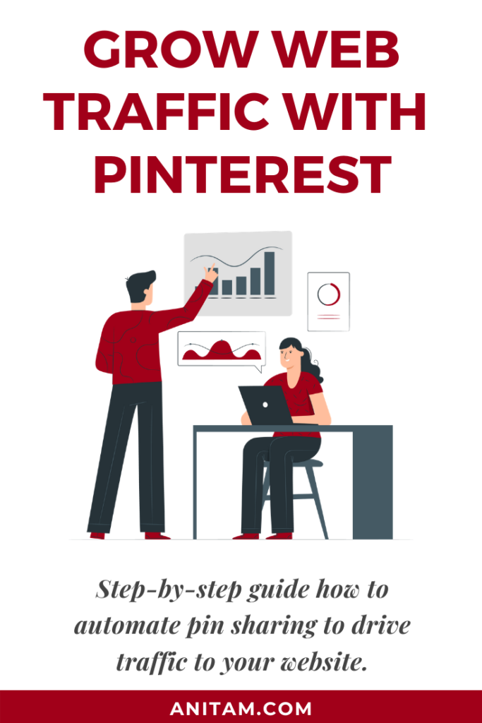Grow Web Traffic with Pinterest and Tailwind | AnitaM