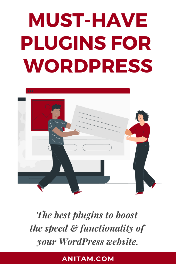 Must-have Plugins for WordPress in 2020 | AnitaM