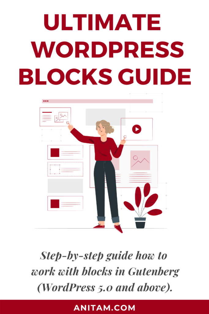 Ultimate WordPress Blocks Guide | AnitaM