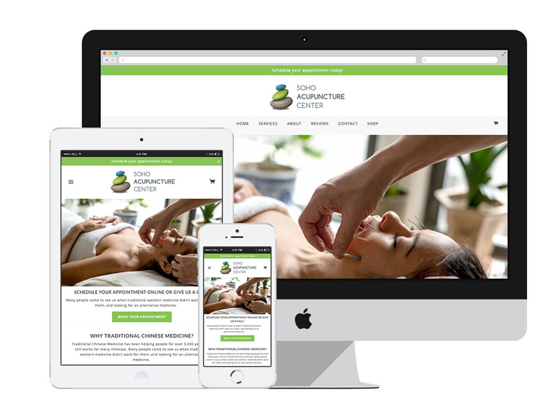 Web Design & Development for Health & Wellness Industry | AnitaM