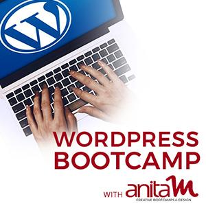 WordPress Bootcamp with AnitaM