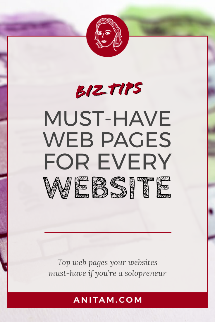 Must-Have Website Pages for WordPress   AnitaM