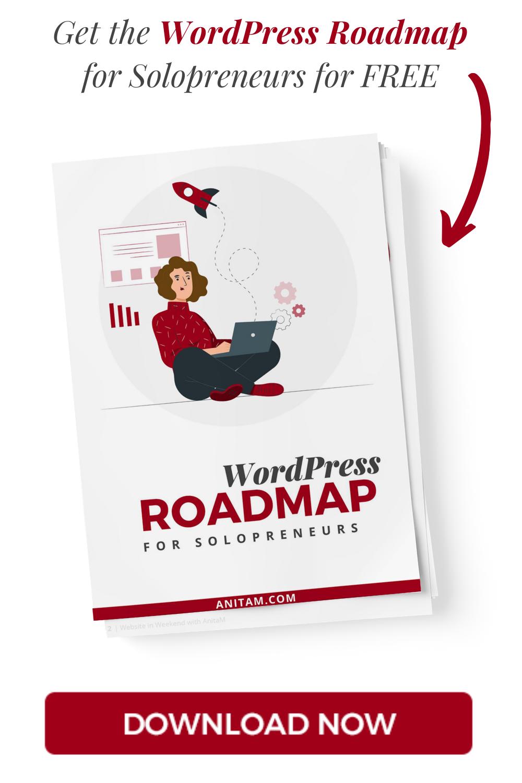 AnitaM - WordPress Roadmap for Solopreneurs