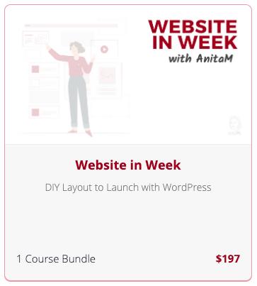 Website In Week   AnitaM